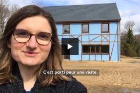VIDEO France Info - On a testé une maison 100% autonome (et qui consomme très peu d'énergie)