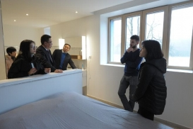 La maison du futur, construite en Creuse, intéresse même les Chinois